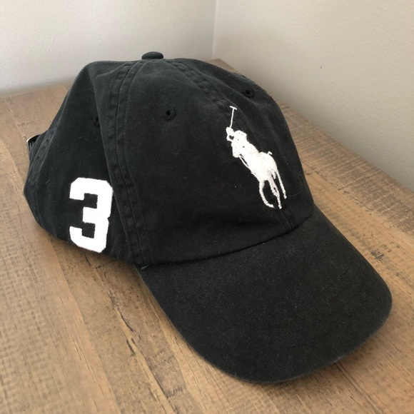 5151f9c3808a4 Polo Ralph Lauren big pony  3 strap-back hat. M 5b12c7c97386bc57c449a8e3